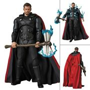Mafex No. 104 Avengers Infinity War Thor Action Figure Medicom 100 Authentic