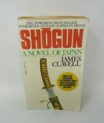 Shogun A Novel Of Japan By James Clavell . A Dell Books