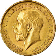 [873474] Coin, India-british, George V, Sovereign, 1918, Bombay, Au, Gold