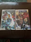 Thor 4 Nm+ 1st Cameo Black Winter Main And Spider-woman Variant 1st Fortnite Mcu