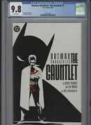 Batman Chronicles The Gauntlet 1 Cgc 9.8 Robin White Pages Weeks Cover And Art