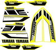 Yamaha Banshee Graphics Kit Decals Red Or Yellow Or Blue 2006 Sm245