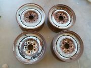 Set Of 4 - Gm Factory 15x6and039and039 Steel Wheel Rim 5 Lug Truck/car Pattern 5.5