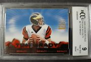 2000 Pacific Crown Royale Rookie Royalty 2 Tom Brady Bccg 9 Nm - Mint Rare