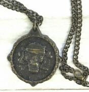 Disney The Pirates Of The Caribbean League Collectible Medallion Necklace 23