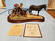 New Rare Lowell Davis From A Friend To A Friend Horse Carriage 717/1200