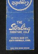 1940s The Sterling Furniture Co. 43-65 N. Main St. South Norwalk Ct Fairfield Co