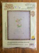 New Sealed Precious Moments Hush-a-bye Blanket Cross Stitch Kit Gloria And Pat2000