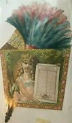 1893 E And F King Co Paints Chemicals And Varnishes Die Cut Advertising Calendar