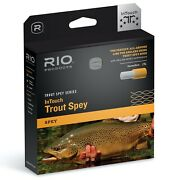 Rio Intouch Trout Spey Yellow/orange/lt Gray - All Sizes - Free Fast Shipping
