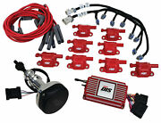 Msd 60152 Red Direct Ignition System Controller Kit S/block For Ford 289-302