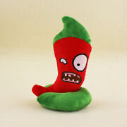 Plants Vs Zombies Jalapeno Red Bomb Plush Toy Stuffed Doll Great Gift 8
