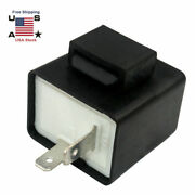 2pin Electronic Led Turn Signal Flasher Relay Fix For Light Fast Hyper Flash Us