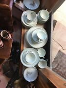 Lady Empire Dinnerware Permacal Lilly Of The Valley Lot-84 Pcs.