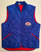 Jacques Seeds Vest Size L/xl Andbull Farmers Feed The World Andbull Vintage Rare Seed Jacket