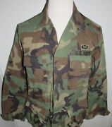 Us Army Military Mens M Camo Jacket Field Issue Airborne Paratrooper Patch