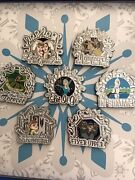 2015 Disney D23 The Music Of Frozen Boxed Pin Set Le 500 In Hand Dlr Anna Elsa