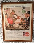 Rare Ww Ii Us Navy Officer Have A Coca Cola Howdy Neighbor Coke In Color 1944