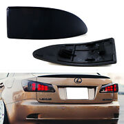 Oe-spec Smoked Lens Rear Bumper Reflector Lenses For 06-13 Lexus Is Is250 Is350