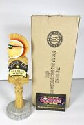 Shock Top Belgian White Mohawk Dude Beer Tap Handle 8andrdquo Tall - Brand New In Box