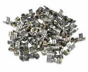 Msd 34614 Stainless Steel 90 Degree Spark Plug Terminals Dual Crimp Pack Of 50