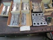 Teco/toolex Quick Change Parallels And Jaws For 6 Vise  I-879