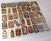 Topps Vintage Wacky Packages Lot Of 40 Cards / Stickers 1979 / 1980