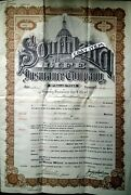 1916 Walter H Rudisill Terrell Texas Harry Seay Insurance Policy Southland Life