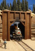G Scale Train Tunnel Portal For Use W Lgb Accucraft Usa Mth Track And Locomotives