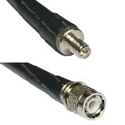 Lmr400uf Rp-sma Female To Tnc Male Coaxial Rf Cable Usa-ship Lot