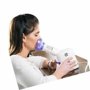 Mabis Personal Steam Inhaler Vaporizer With Aromatherapy Diffuser, Purple And...