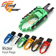 Cnc Rider Front Trc Foot Pegs For Yamaha Tdm 850 91-01 92 93 94 95 96 97 98 99