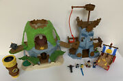 Jake And The Neverland Pirates Magical Tiki Hide And Hook's Adventure Rock And More