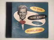 The Voice Of Frank Sinatra On Columbia Records Set C-112 Very Rare