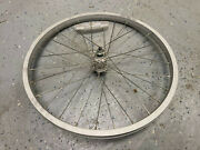 20 Inch Front Wheel 70mm Wide Hub For Jogger Stroller Etc 28 Hole Smooth