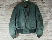 Rare 1950and039s Vintage Usaf B-15d Mod Flying Jacket Us Military Uniform Clothes 36