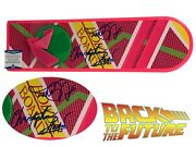 Michael J Fox Christopher Lloyd Back To The Future Autograph Hoverboard Beckett