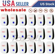 Ultrasonic Pest Electronic Reject Bug Mosquito Cockroach Mouse Killer Repeller