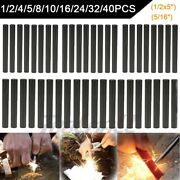 Lot 1/2x5and039and039 5/16 Ferrocerium Rod Flint Fire Striker Magnesium Camping Outdoor