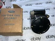 Nos 1936 Ford Flat Top V-8 Ignition Coil With Condenser 68-12024 Oem