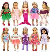 Ebuddy 10-sets Fashion Doll Clothes And Accessories With Popular Elements Horn