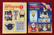 Lot Of 2 Books Schroeder's Antiques Price Guide 1995/13th Edition And 1990/8th Ed
