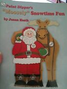 Christmas Decorative Painting Pattern Book Moosely Snowtime Fun By Junan Heath