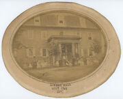 1865 Linden Hall School For Girls Civil War Period Photo Lititz, Pa., By Saylor