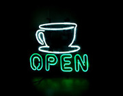 Neon Signs Gift Coffee Open Beer Bar Pub Party Coffee Shop Wall Decor 19x15