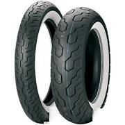 Dunlop 4009-36 K177 Tire 120/90h18 - Ace - Wide White Wall Front