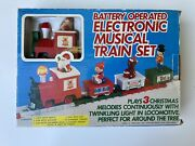 Vintage Tony Electronic Musical Train Set Battery Operated 1985 S699k