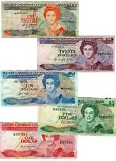 East Caribbean States 1 5 10 20 100 17 22 23 24 25 1985 Queen Complete 1985 Note