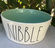 Rae Dunnnibblelarge Pet Bowlfarmhouse Letternew8andrdquox3.5andrdquo. 7cups Of Water