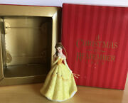 Vintage 1999 Disney Store A Christmas To Remember Belle Ornament New